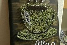 AC - Fils tendus et clou (String Art) / String Art
