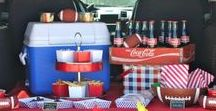 Tailgating Ideas by Hayden Homes / Some fun ideas for you to make your tailgating party the best on the block!