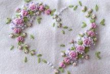 Embroidering  1 / by Sylvinha Alencar