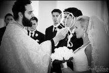 Greek Orthodox Wedding / A view from within the Greek Orthodox Church...