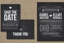 Wedding Invitations and Stationary Ideas / The wedding invitation will set the tone for the whole event. We hope that this board helps you to select the perfect stationary, colours, wording and themes for your Greek Wedding. / by Greek Weddings and Traditions