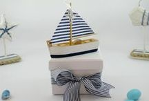 Christening Bomboniere and Favours for Guests / Flavored, colorful and traditional koufeta for Christening Bombonerie & Baptism Favours! Available to purchase from the Greek Wedding Shop ~ www.greekweddingshop.com