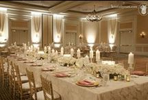White Uplighting / #White #uplighting examples for your #event or #wedding #reception ! #DIY #Inspiration #Ideas