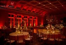 Red Uplighting / #Red #uplighting examples for your #event or #wedding #reception ! #DIY #Inspiration #Ideas