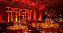 Orange Uplighting / #Orange #uplighting examples for your #event or #wedding #reception ! #DIY #Inspiration #Ideas