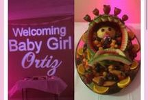 Baby Shower Ideas / #Uplighting examples and #ideas for your #event or #baby #shower ! #DIY #Inspiration #Ideas #babyshower