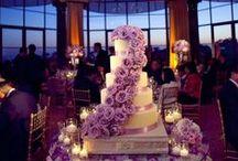 Wedding Cake Inspiration / #Uplighting and #wedding #cake examples for your #event or #reception ! #DIY #Inspiration #Ideas #weddingcake