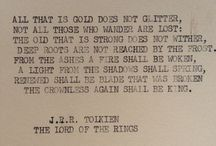 Tolkien's Books & Movies / by Adry Hass