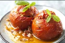 Gemista Recipes - Greek Cooking Challenge / Join the Greek Cooking Challenge and learn how to make Greek Food. The dish for August 2014 is Gemista - Stuffed tomato and other stuffed vegetables. Here you will find some of our favourite recipes, photos and inspiration.