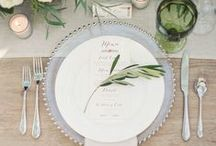 Table Top Decor & Style / A board dedicated to style inspiration for the table. This could be wedding table settings or dinner parties, family gatherings or drinks with friends.