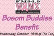 WQMX Bosom Buddies / by WQMX