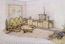 Frank Lloyd Wright / diseñador mobiliario