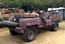 Land Rover Military / Фотографии и видео военных модификаций Land Rover с 1948 года до наших дней.