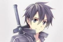 sword art online / Survive and make it to the 100th level! And give sandwich San to Kirito :)