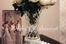 Brides of Beecroft / We have created a divine salon with sumptuous surroundings decorated with Catherine Martin soft furnishings with private viewing rooms where the bride can relax and feel comfortable trying on our great selection of affordable designer gowns