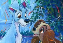 Lady and the Tramp!!!!!!!!!!!!!! / Cute fluffy love story!          Adorable