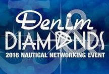 "Denim & Diamonds 2016 Nautical Networking Outfit Ideas / Join South Florida IMA and 300+ of the top digital marketers from around the country on 10/14/16 at this invitation-only ""Denim & Diamonds"" Nautical Networking Event (NNE). Email sponsorship@sfima.com to reserve your spot today! Join the fun by dressing in theme with these theme inspired outfits. #NNE2016"