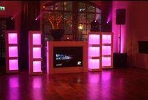 Wedding DJ / Om van u trouwfeest een topfeest te maken bent u een professionele DJ nodig die de favoriete muziek van u en uw gasten draait in samenwerking met een unieke DJ Show.