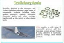 Trelleborg Seals / Aerospace: aerospace seal made use of in virtually all major commercial and army plane schools. Key application areas are engines, flight control actuators, getting equipment, airframes, tires and brakes. DKI gives the genuine value for your closing application, with a thorough array of impressive, high performance and affordable Sealing Products.