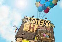 Gravity Falls / Mystery stuff