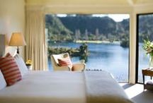 Rooms With A View / Wake up to some of the most magical and unforgettable views at these romantic retreats, luxury lodges and holiday homes across Australia and New Zealand.