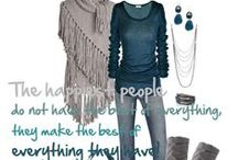 Polyvore in Teal / Mint