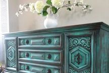Furniture in Teal / Mint / Turquoise