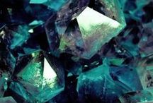 Minerals in Teal