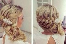 Wedding Hairstyles / Beautiful bohemian hairstyles for your wedding