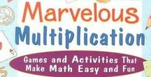 Multiplication / Teaching Kids Multiplication.  Printables and Math Ideas.