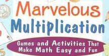Multiplication / Teaching Kids Multiplication.  Printables and Math Ideas.