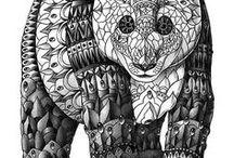 ZENTANGLE / my creative collection of zentangle