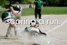 SOFTBALL / My favorite sport!!!!!