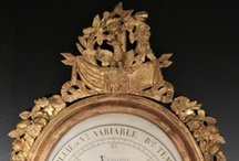 Barometer 18th and 19th century  / With Proantic you can find different kind of gilded wood  barometers  from the 18th and 19th century Period . For sale by antiques dealers