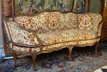 Sofa, bed, daybed  18 or 19th century