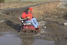 All-terrain Wheelchairs / For those who love the outdoors