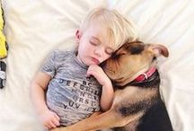 ~ Kids + Pets ~ / Heartwarming, adorable photos of kids and animals. / by California Baby®