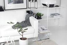 Home interior / interion design and home inspiration