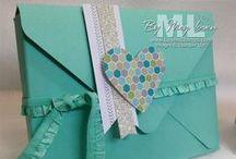 Handgemachte Briefumschläge