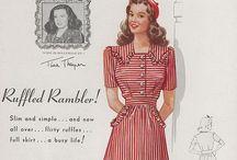 Dresses 1940/'50