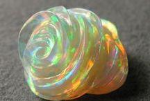 Magic opals / Magic opals of all varieties