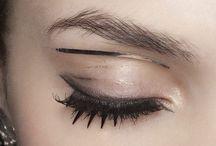Beauté / Makeup Inspiration // Avante garde, runway, fashion, natural.
