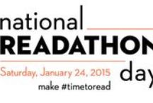 National Readathon Day Suggestions / January 24, 2015 is the first ever day dedicated to reading!  Whether you read on your own or to others, we are encouraging you to make #timetoread!  Feel free use this hashtag and tell us how you are participating.   Here are some suggestions for you!