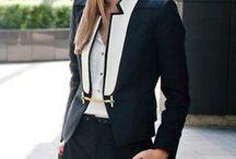 Street Style // Workstyle / ¿te faltan ideas para armar un outfit para ir a trabajar? aquí les dejo un poquito de street style oficinero