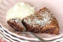 Baka med choklad / Choklad är gudarnas föda! Länkar till massor med goda recept med choklad!