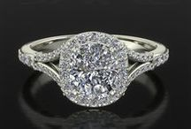 Diamond Rings LUXEDOGEMS / Light her life with the brightness of an extraordinary diamond.. A wide selection of unique gemstones and ring setting to create your perfect amazing jewel