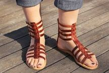 Leather Sandals Handmade