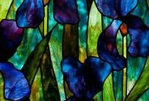 stained glass / glas in lood