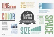 U&I: visuell kommunikasjon / Infografikk og annet materiell som handler om visuell kommunikasjon