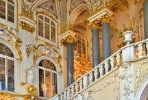 castles, palaces, places